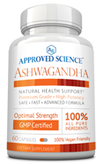 Approved Science<sup>®</sup> Ashwagandha Small Bottle