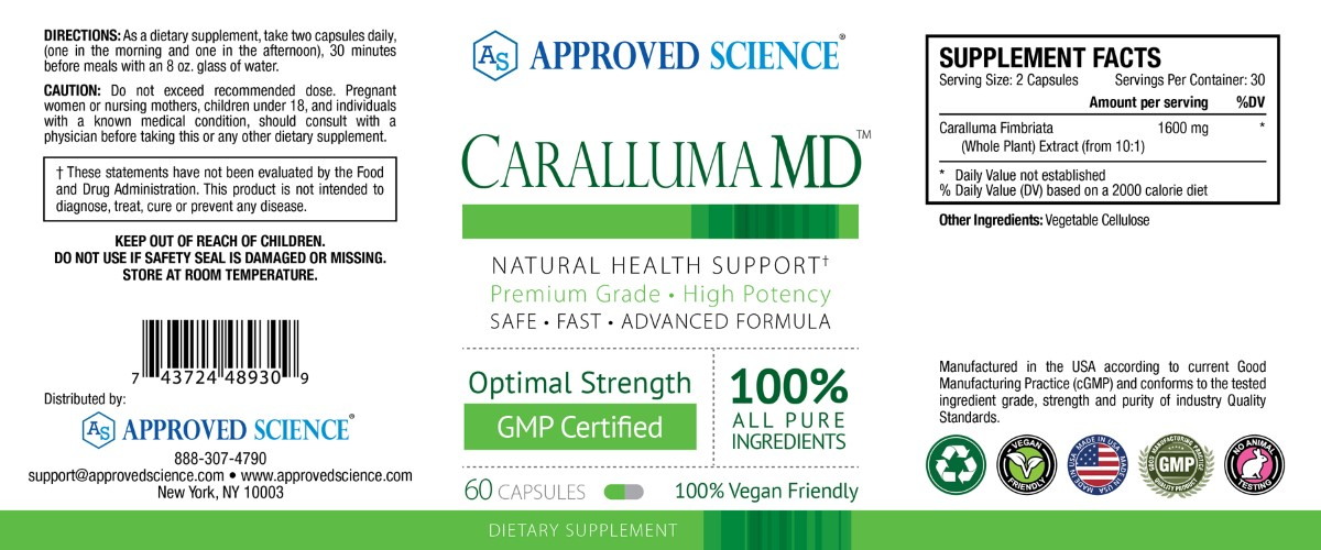 Caralluma MD™ Supplement Facts