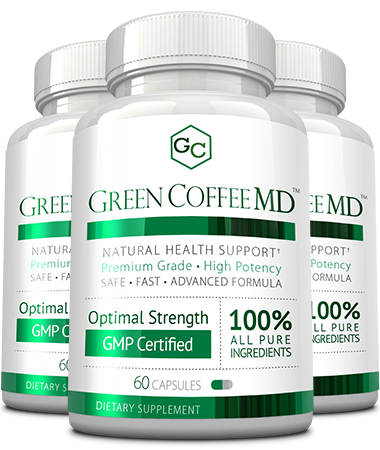 Green Coffee MD<sup>™</sup> Main Bottle