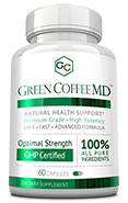 Green Coffee MD<sup>™</sup> Small Bottle