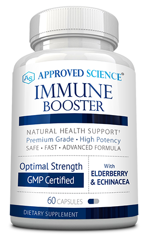 Approved Science<sup>®</sup> Immune Booster ingredients bottle