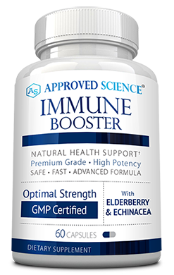 Approved Science<sup>®</sup> Immune Booster Risk Free Bottle