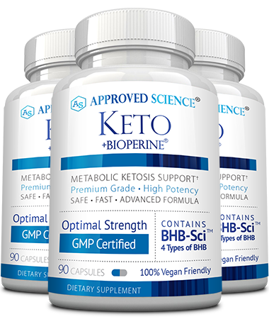 Approved Science® Keto Main Bottle
