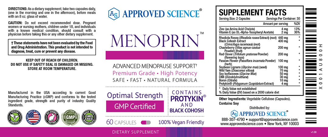 Menoprin™ Supplement Facts