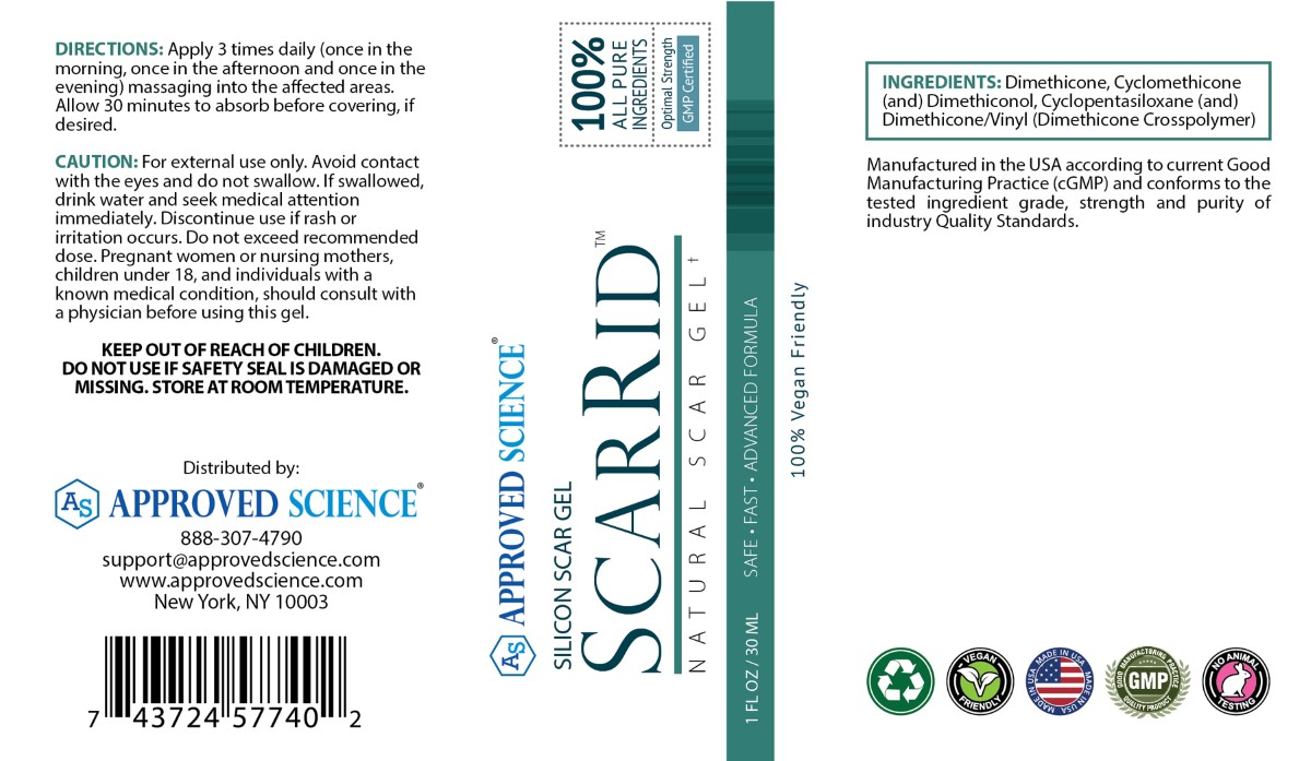 Scarrid Supplement Facts