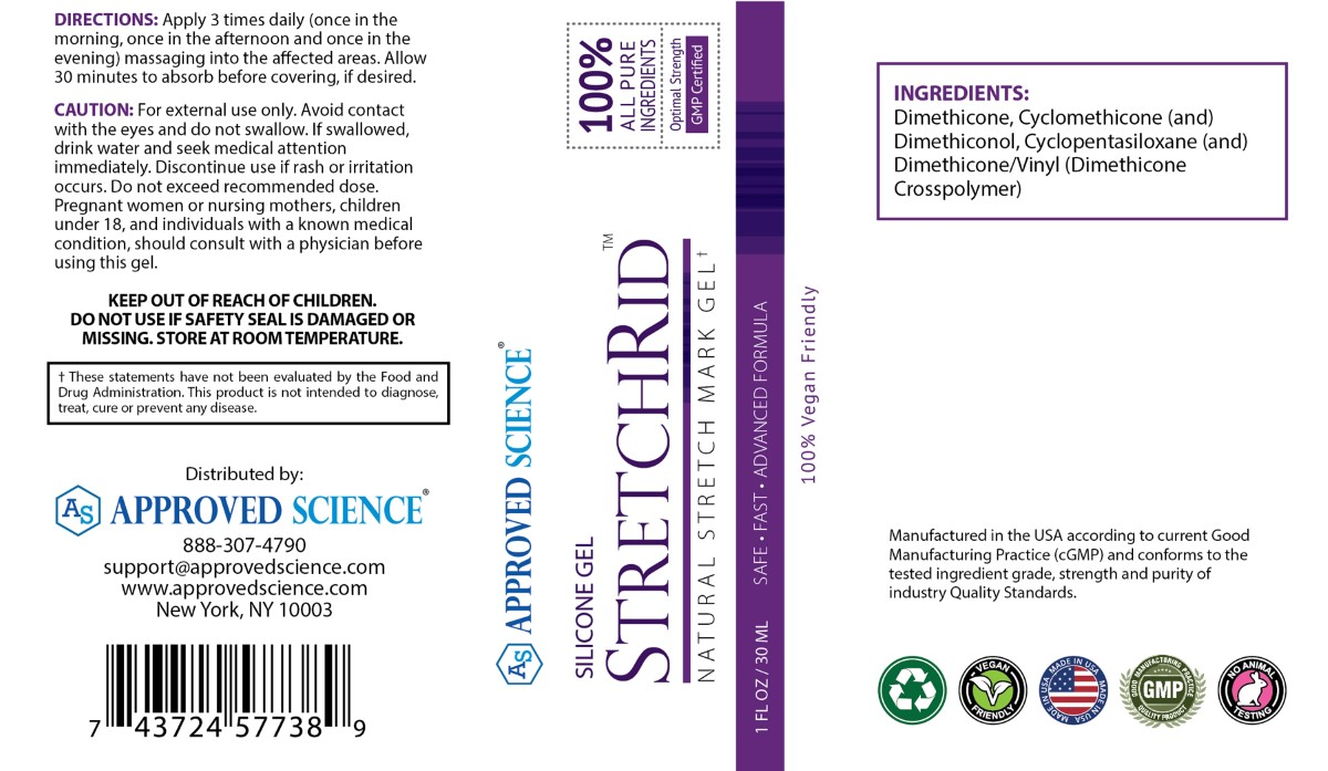 Stretchrid Supplement Facts