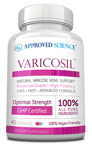 Varicosil™ ingredients bottle